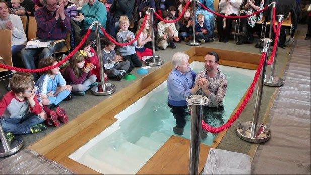 Baptisms At Easter